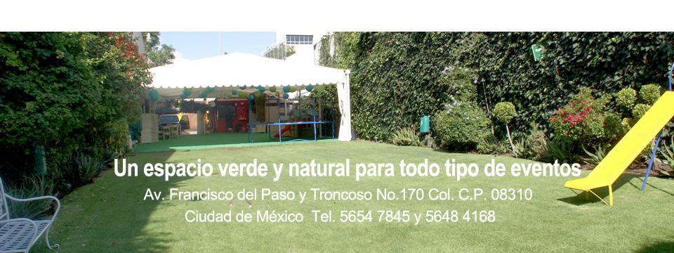 Jardín Florencia Jardín De Fiestas Para Eventos En Iztacalco